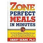 zone perfect meals in minutes book